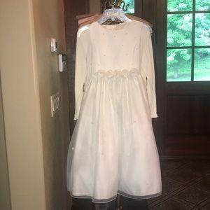 White Cinderella Dress- Flower girl